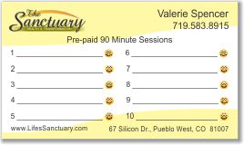 Pre-Paid Session Card